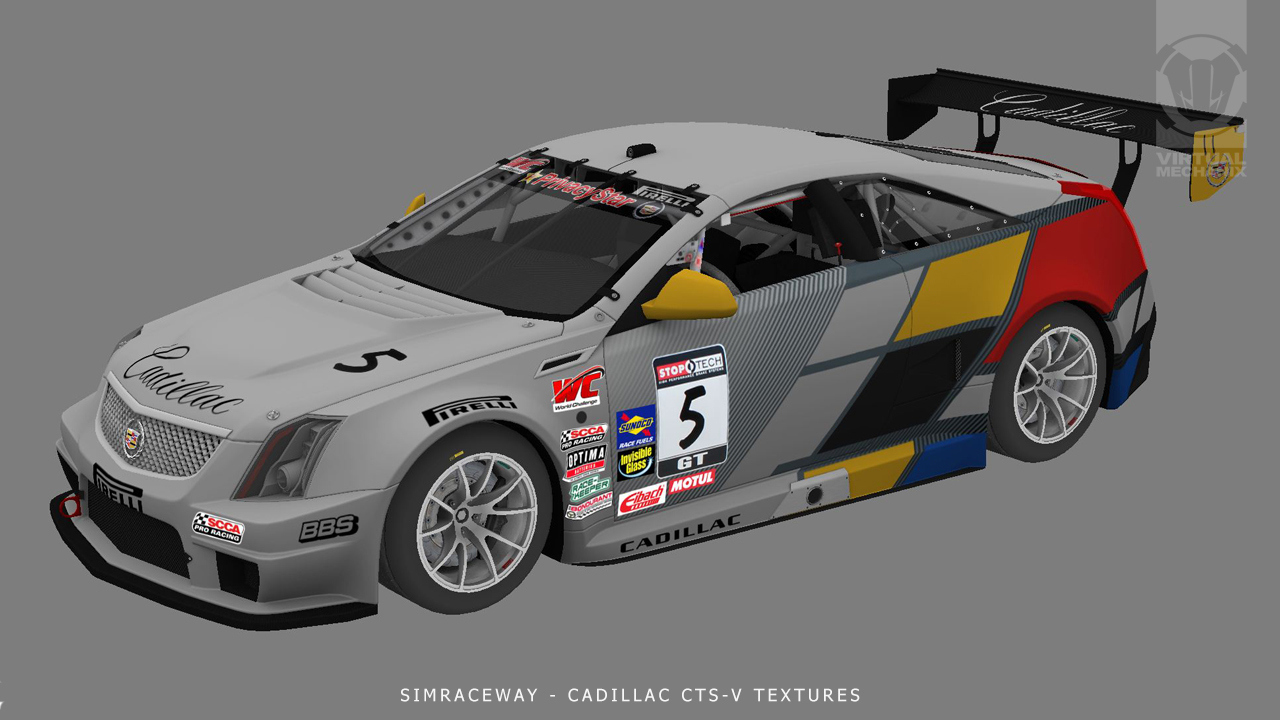 3D WIP Testure CadillacCTS-V