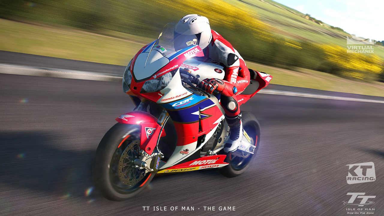 TT Honda 3D In-Game