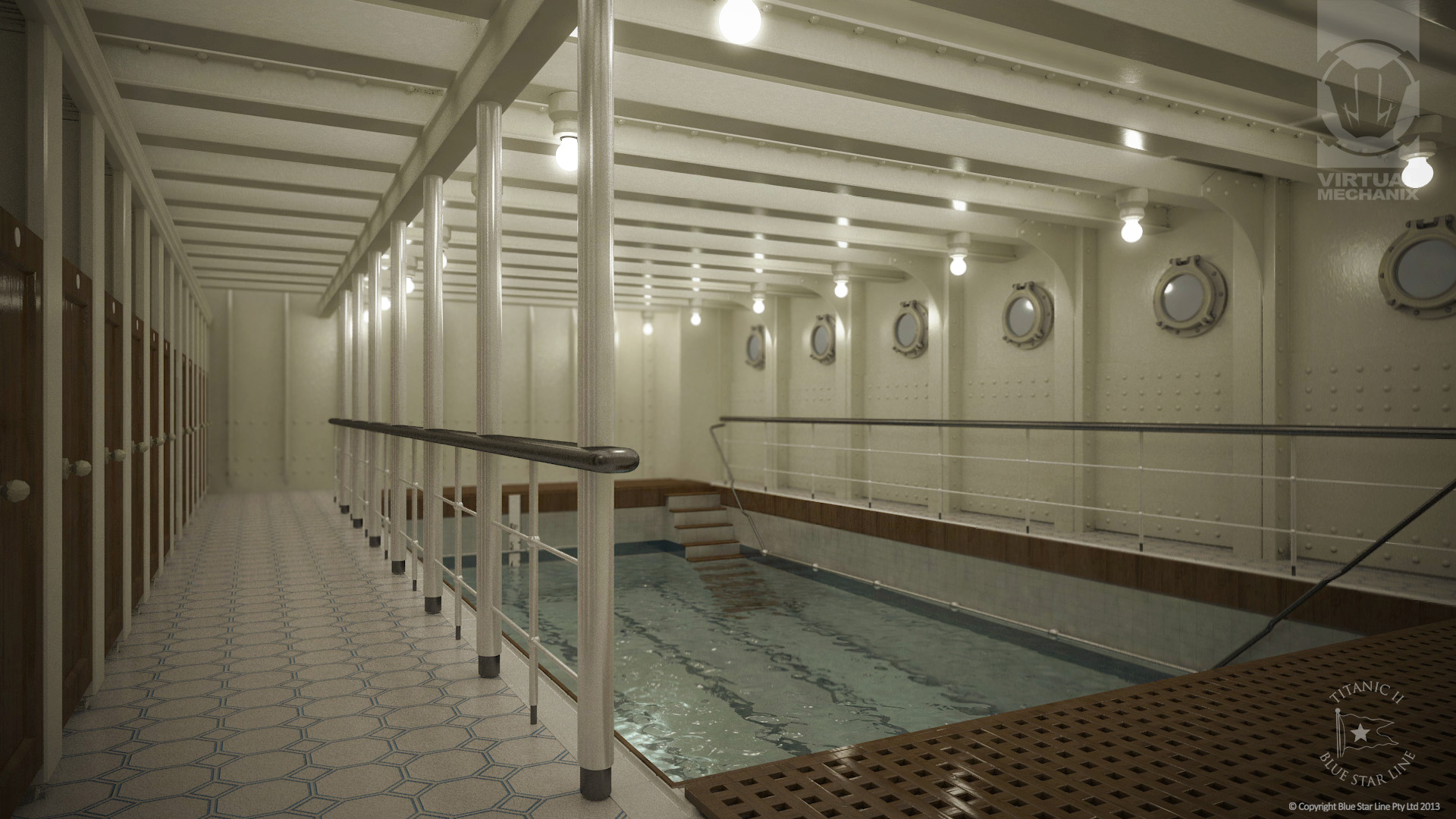 Swimming Pool 3D Visualisation