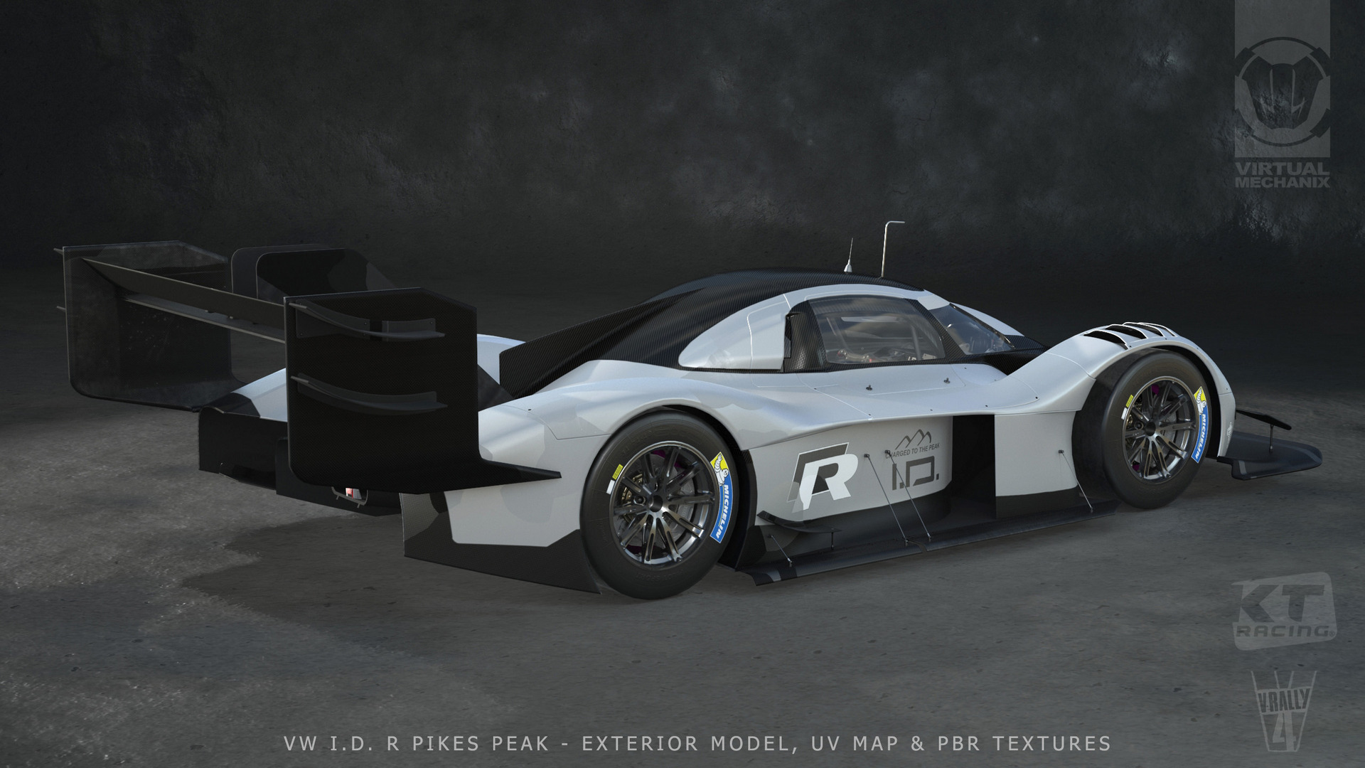 VR4 VW ID R Pikes Peaks Exterior 3D